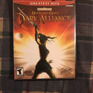 BALDUR'S GATE DARK ALLIANCE - PS2 GAME for Sale in Arlington, TX