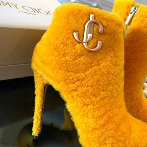 Jimmy Choo shearling boot heels for Sale in Merrillville, IN