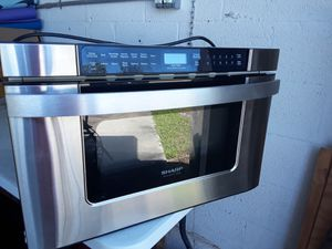 Sharp Insight-Pro Microwave Drawer for Sale in Port St. Lucie, FL
