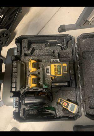 Dewalt 360 green laser for Sale in Riverside, CA