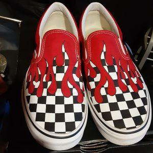 Vans Red Drip Slide On Mens Size 10.5 for Sale in Graham, NC