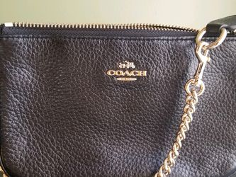 Coach Black Leather Handbag for Sale in East Meadow,  NY