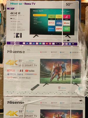 55 SHARP TVS 4K smart UHD!! for Sale in Diamond Bar, CA