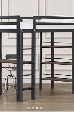 Restoration Hardware Full Size Loft Bed w/Desk for Sale in Orland Park,  IL