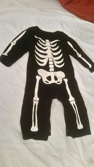 Skeleton one piece old Navy size 3-6 month for Sale in Union City, GA