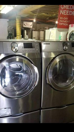 Huge Sale store full of nice reconditioned refrigerator washer dryer stove stackable+financing available available free warranty🐾🌼 for Sale in Seattle, WA