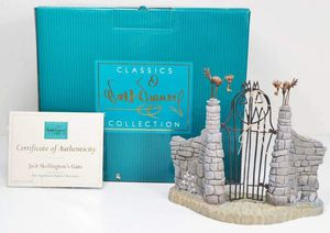 WDCC Disney The Nightmare Before Christmas Jack Skellington's Gate w/ Box & COA for Sale in Kent, WA