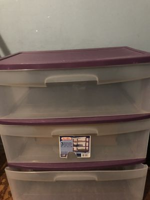 Plastic storage drawers for Sale in Fontana, CA