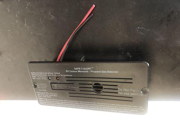 Carbon monoxide detector motorhome or Boat uses any 12 volt power safe T alert