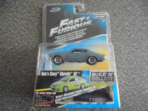 Jada Fast & Furious Die Cast Dom's Chevy Chevelle SS for Sale in Chula Vista, CA