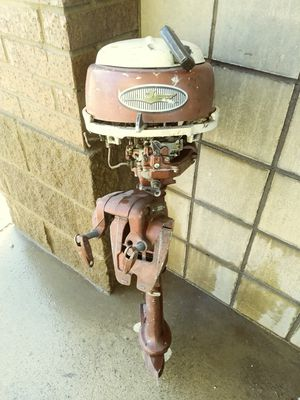 Rare 1957 johnson outboard motor for Sale in Richland Hills, TX