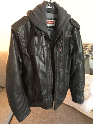 Levi's Faux Leather Jacket for Sale in Raleigh, NC