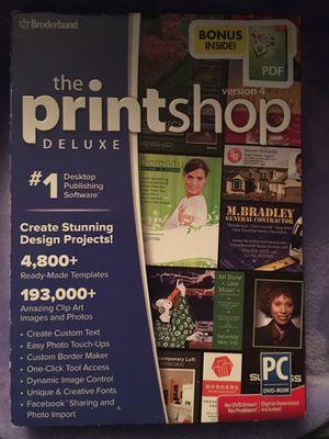 Printshop Deluxe Software for Sale in Sacramento, CA