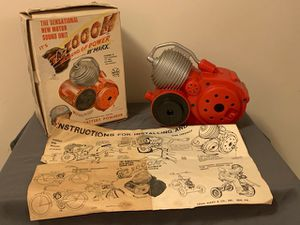 Antique Marx ZaZoom Motor Sound Unit Toy for Sale in Cambridge Springs, PA