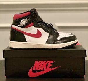 Air Jordan 1 Retro High OG Black Gym Red US 9.5 for Sale in Aldie, VA