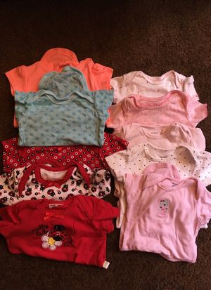 217bc6c3889e Baby onesies 3-6 months for Sale in Bell