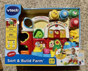 VTech Sort and Build Farm for Sale in Allen, TX