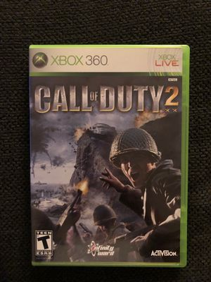 Call of Duty 2 (XBOX 360 - Like New) for Sale in Daniels, MD