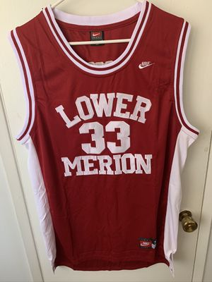 Kobe Bryant #33 red lower merion high school jersey for Sale in San Fernando, CA