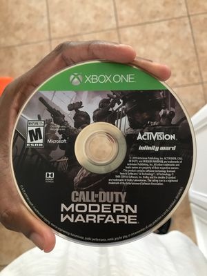 Call of duty modern warfare for Sale in San Antonio, TX