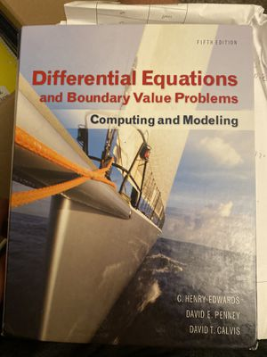 Differential equation book for Sale in Dearborn, MI