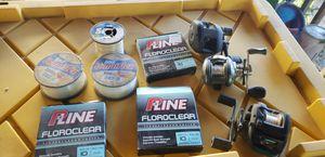 Fishing stuff,reels,line for Sale in Manteca, CA