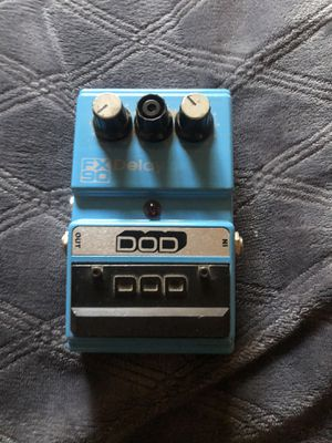 DOD Fx90 Delay Pedal Vintage Awesome Condition guitar bass keyboard effects for Sale in San Bernardino, CA