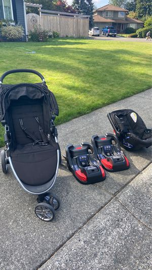 Britax B-safe B-agile travel system for Sale in Bothell, WA