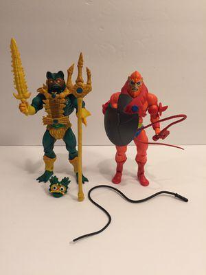 MOTU Classics Filmation 2 Action Figure Lot - Masters Universe Heman - Vintage Toys for Sale in Warrenville, IL