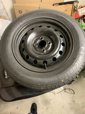 195/65/r15 4 tires with rim for Sale in San Diego, CA