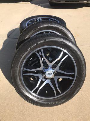 American Racing rims/ Yokohama tires for Sale in Lombard, IL