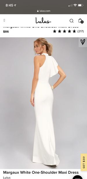 Lulus's white dress for Sale in Auburndale, FL