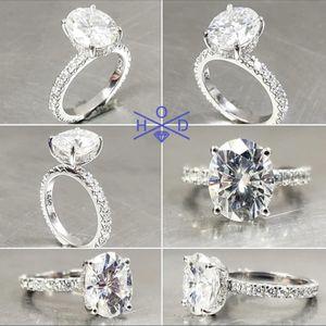 18k White Gold Diamond Engagement Ring 1.75ct for Sale in Gilbert, AZ