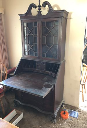 Antique Secretary's desk for Sale in Torrance, CA
