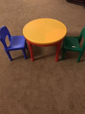 Kids table & chairs for Sale in Vancouver, WA