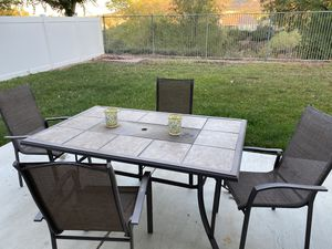 FREE patio table plus 10 chairs! for Sale in Murrieta, CA
