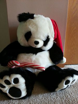 Christmas Plush Panda Bear Stuffed Animal for Sale in Bolingbrook, IL