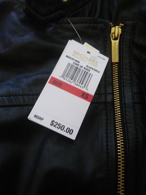 Michael kors leather jacket for Sale in San Francisco, CA