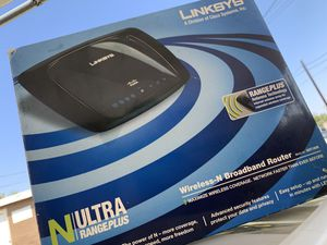 Linksys router for Sale in Baldwin Park, CA