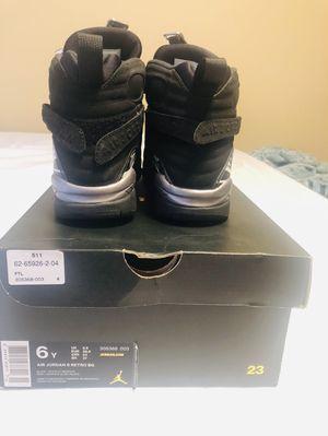 Air Jordan retro 8 size 6 boys for Sale in Frederick, MD