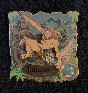 Disney Pin #198, LE (2000), 2016, A Piece of Disneyland Resort History, Tarzan's Treehouse for Sale in San Diego, CA