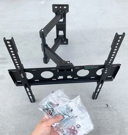 New in box $25 Universal TV Wall Mount 23-55 Inches Full Motion Swivel Tilt Bracket, Max 100 Lbs for Sale in Pico Rivera,  CA
