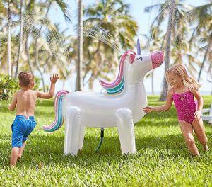 Pottery Barn Unicorn Sprinkler Inflatable for Sale in Santa Ana, CA