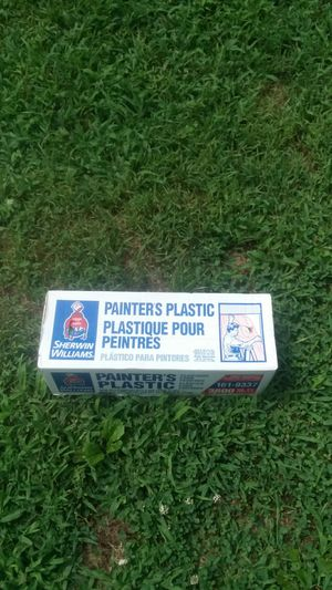 Painter plastic,$5 each boxes for Sale in Thornhill, VA
