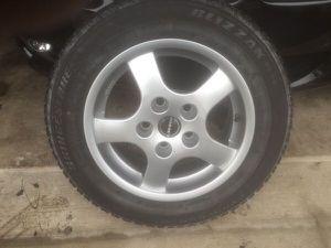 Bridgestone tires & Borbet rims for Sale in Naperville, IL