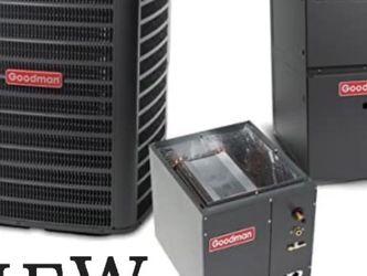 New Goodman Hvac System Condenser Coil Furnace 16seer for Sale in CA,  US