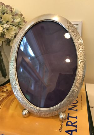 Antique sterling silver picture frame by Webster early 1900s for Sale in Bellevue, WA