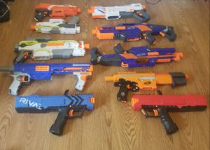 huge nerf gun lot for Sale in Columbus, OH