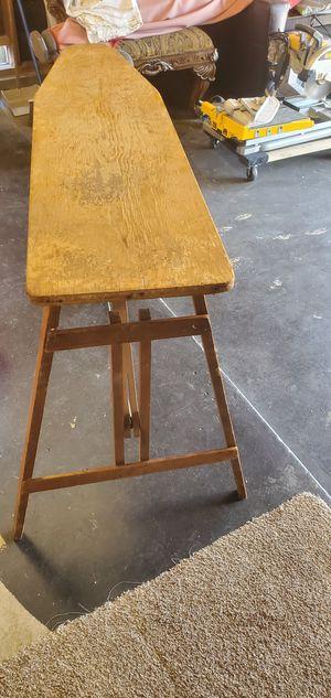 Antique iron board for Sale in Sacramento, CA
