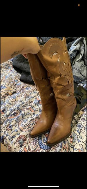 Western boots size 9.5 for Sale in Brandon, FL
